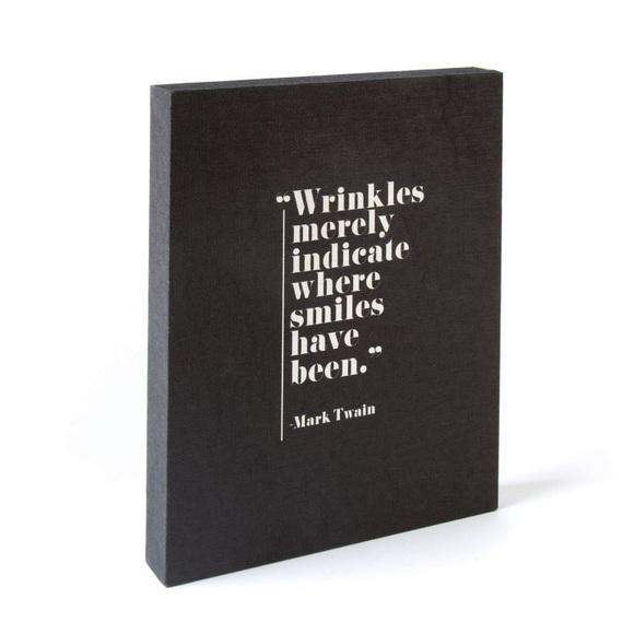 Paper Destiny Other - Paper Destiny Black Wrinkles Canvas Wall Art